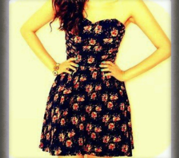 dress fleur jolie