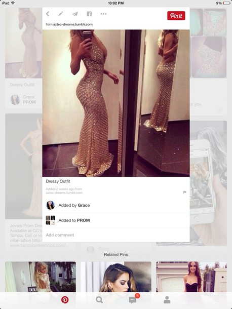 dress gold sequins geometric long dress prom dress blouse