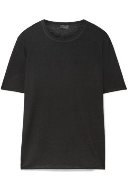 Joseph t-shirt shirt t-shirt black top