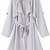 Grey Long Sleeve Epaulet Tie-waist Trench Coat -SheIn(Sheinside)