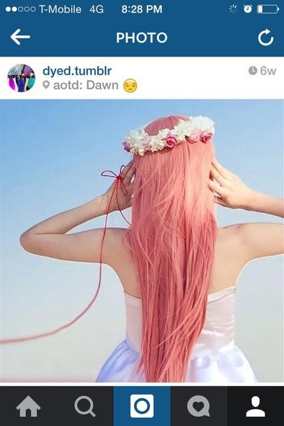 hair accessory tumblr hair dye