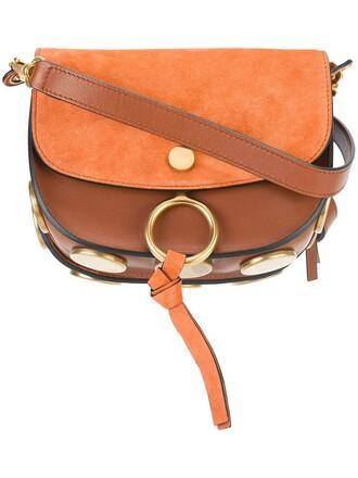 bag shoulder bag brown