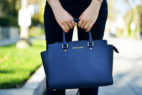 bag blue bag blue