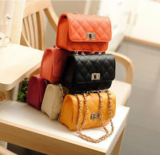 New Fashion Mini Shoulder Bag Quilting Chain Cross Body Korean Ladies Handbag | eBay