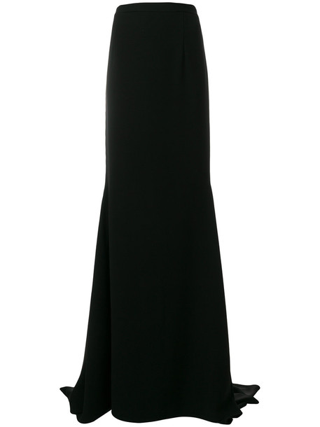Francesco Paolo Salerno skirt maxi skirt maxi women spandex black