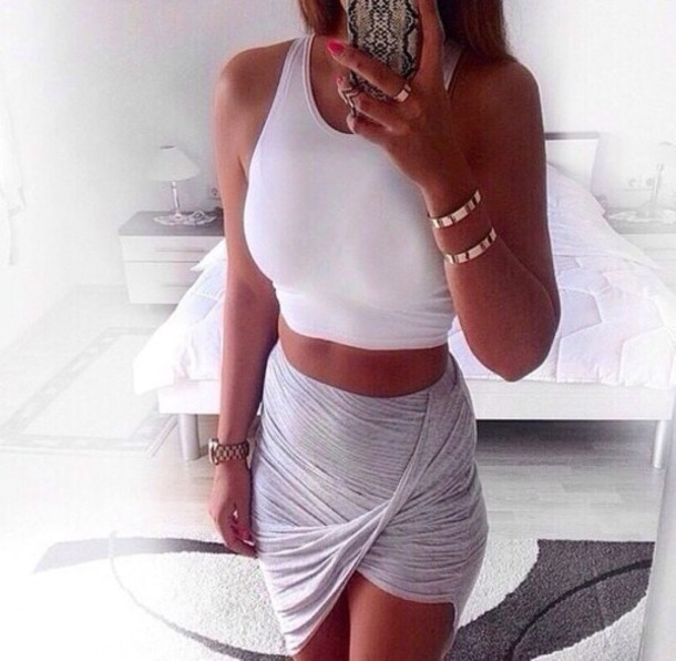 phone cover soo prettyy girl skirt grey iphone case top nice outfit
