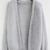 Loose Knit Grey Cardigan -SheIn(Sheinside)