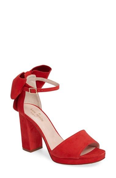 kate spade new york halle ankle strap sandal (Women) | Nordstrom