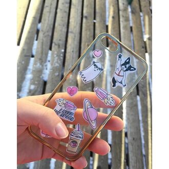 phone cover yeah bunny stickers iphone iphone stickers cute pastel girly creative