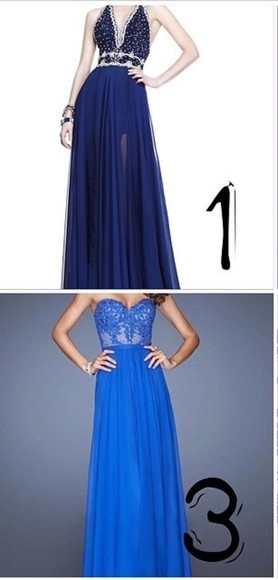 dress white details black prom long prom dress blue prom dress gowns dark blue prom dress royal blue dress gown royal blue blue/indigo dark blue dress dark blue prom dress