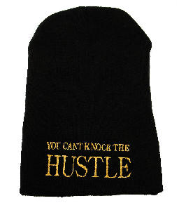 YOU CAN'T KNOCK THE HUSTLE BEANIE | SARNIA MONROE
