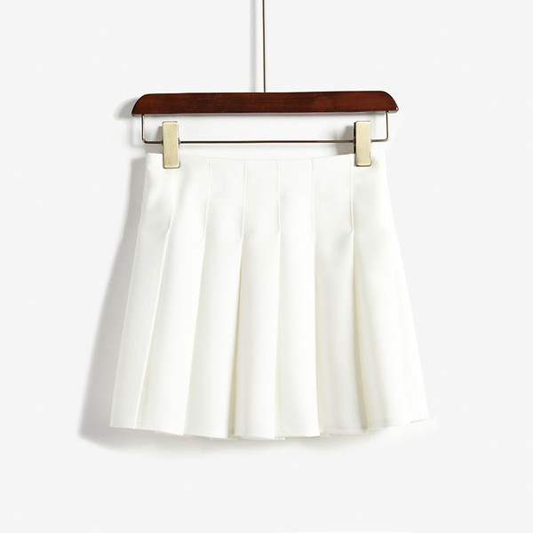 skirt tennis skirt white cute clothes
