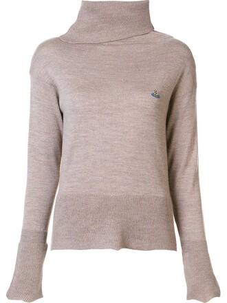 jumper brown sweater