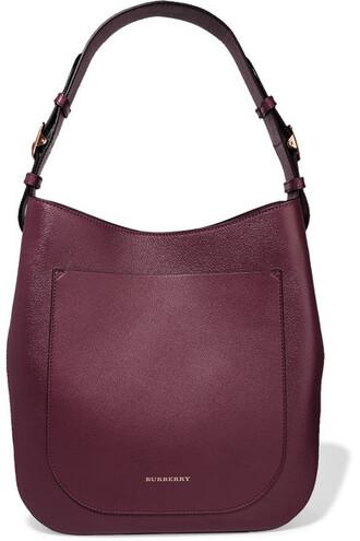 london bag shoulder bag leather plum