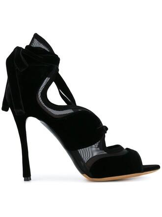 lace up sandals women sandals lace leather suede black shoes