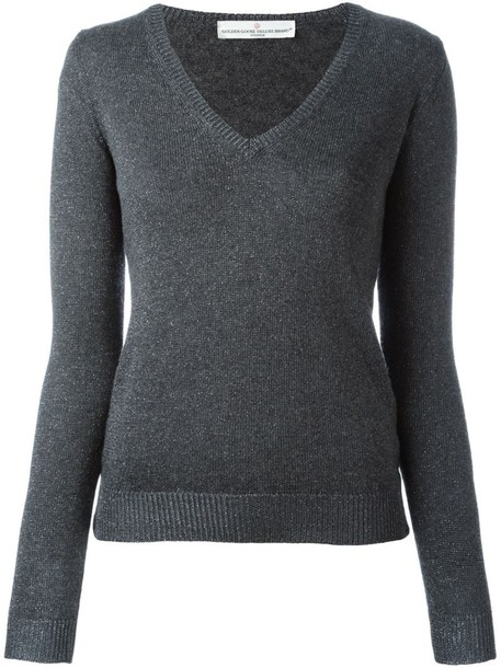 GOLDEN GOOSE DELUXE BRAND jumper women grey sweater