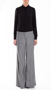 pants,wool,designer,boho,boho chic,wide leg,flare,wide-leg pants