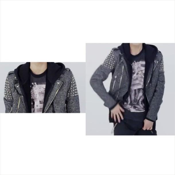 jacket studded jacket