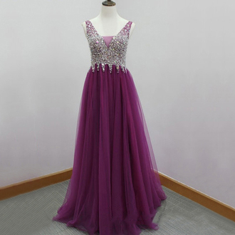 dress prom prom dress purple purple dress lavender lavender dress violet special occasion dress maxi dress maxi long long dress long prom dress v neck v neck dress bridesmaid evening dress long evening dress love lovely crystal glitter glitter dress fashion fashion vibe fashionista style stylish trendy girl girly women vogue chic vintage sparkle shiny sparkly dress