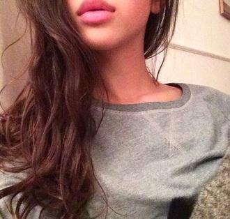 pullover sweater heathered heathered top sweatshirt