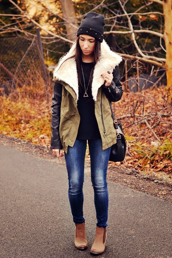disturbed style jacket shoes sweater pants