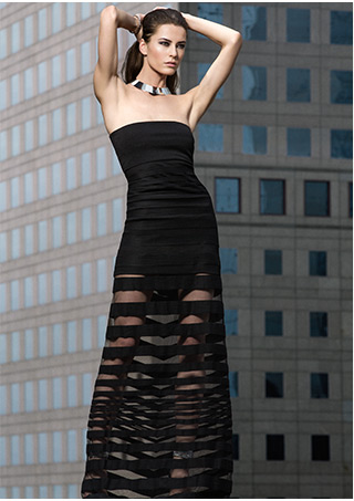 Robert Rodriguez EXCLUSIVE Techno Colorblock Dress-Dresses-Sale-Categories- IntermixOnline.com