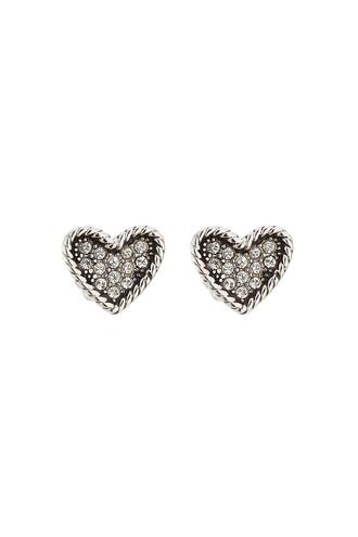 heart earrings heart embellished earrings jewels