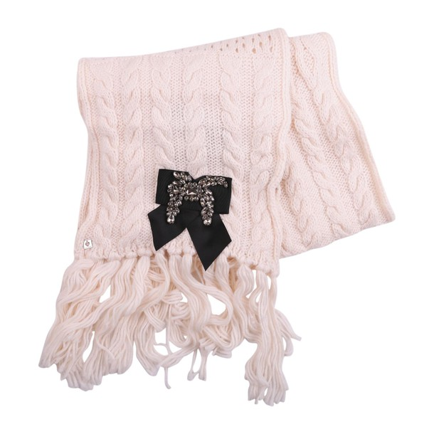 Twin-Set scarf knit cream