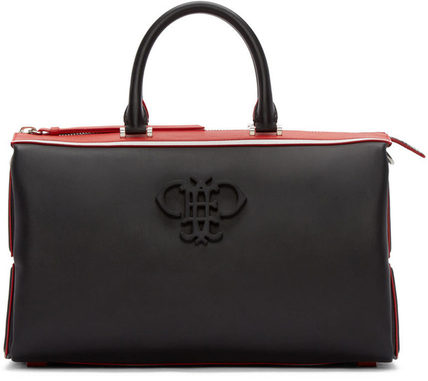 Emilio Pucci bag leather black black and red red