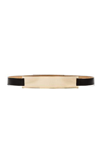 belt gold black