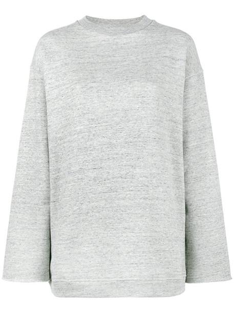 GOLDEN GOOSE DELUXE BRAND sweatshirt women cotton grey sweater