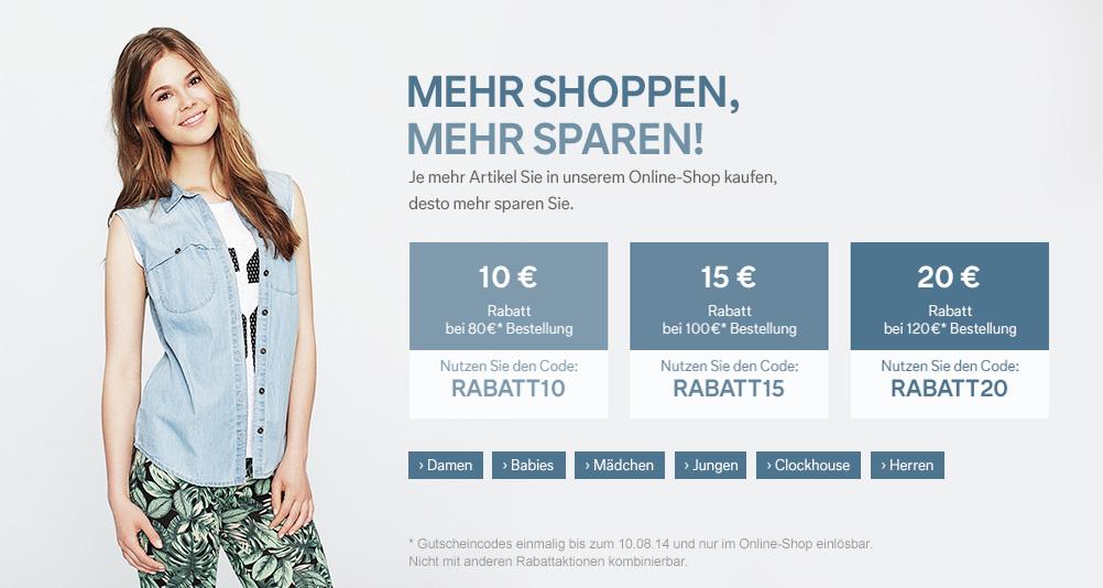 Mode günstig kaufen | C&A Online Shop