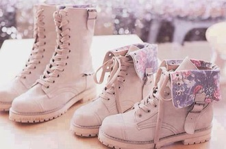shoes cute flower pink