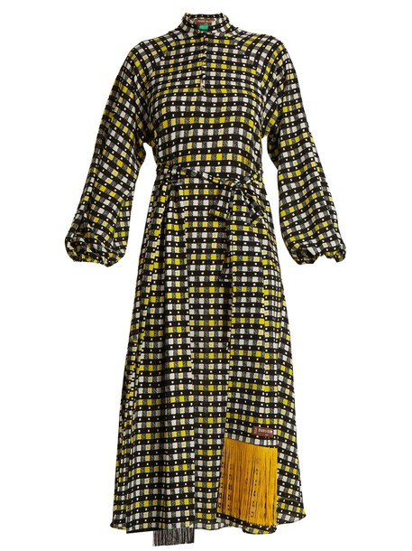 Duro Olowu dress print yellow