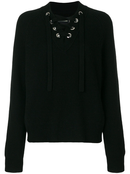 Zadig & Voltaire jumper women black wool sweater