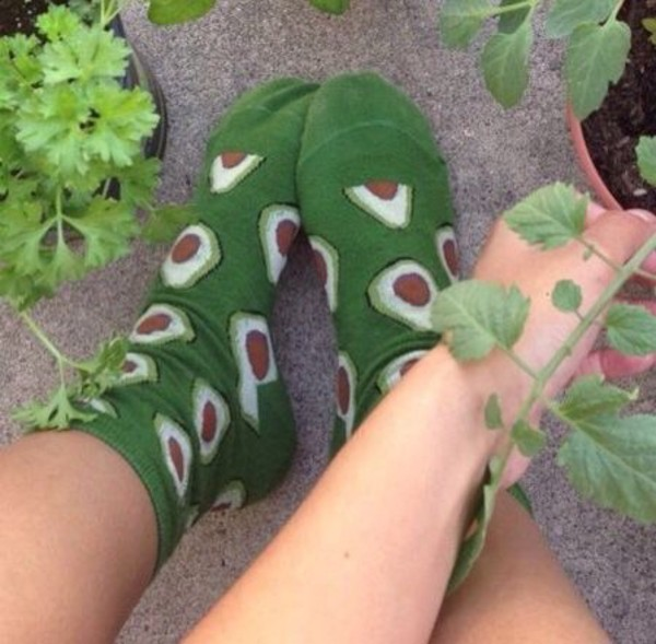 socks, aesthetic, avocado, tumblr, tumblr aesthetic, green ...