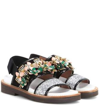 shoes bejewelled embroidered shoes marni embroidered statement shoes