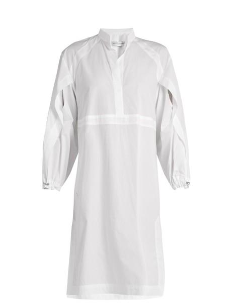 Amanda Wakeley shirtdress cotton white dress