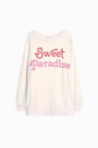 jumper sweet pink sweater