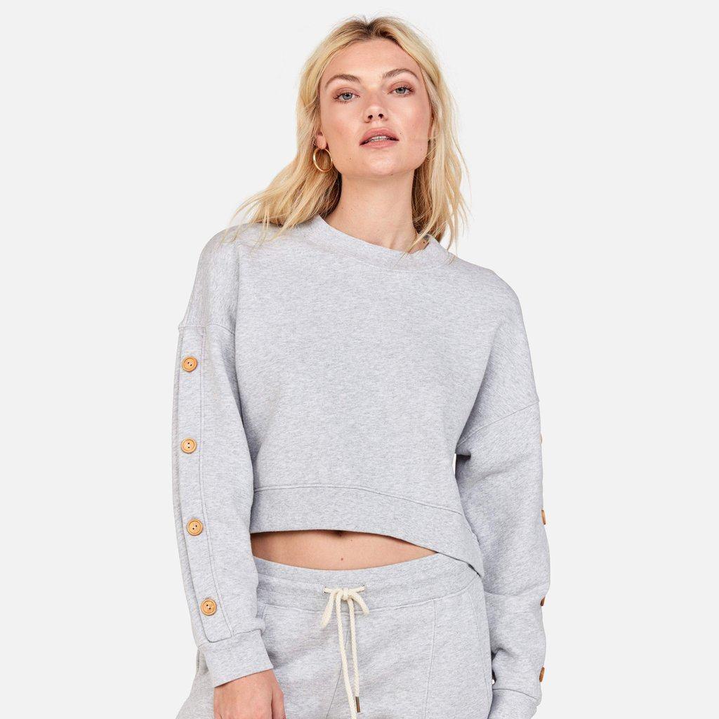 Harvey Sweater / Heather Grey