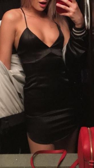 dress mini dress little black dress lbd dress black dress spaghetti straps dress