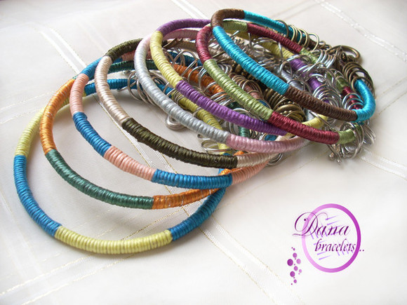bangles jewels handmade charms string