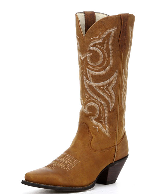 "Durango Women's 13"" Crush Tall Jealousy Boots - Distressed Cognac"