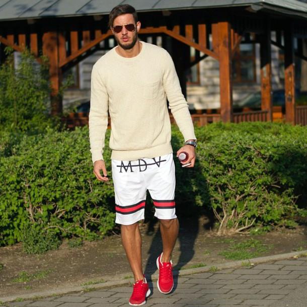 Mdv De shorts mdv maniere de voir swimwear white wheretoget