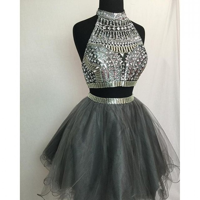 Aliexpress Com Buy Homecoming Dresses 2015 Two Piece Prom Dress