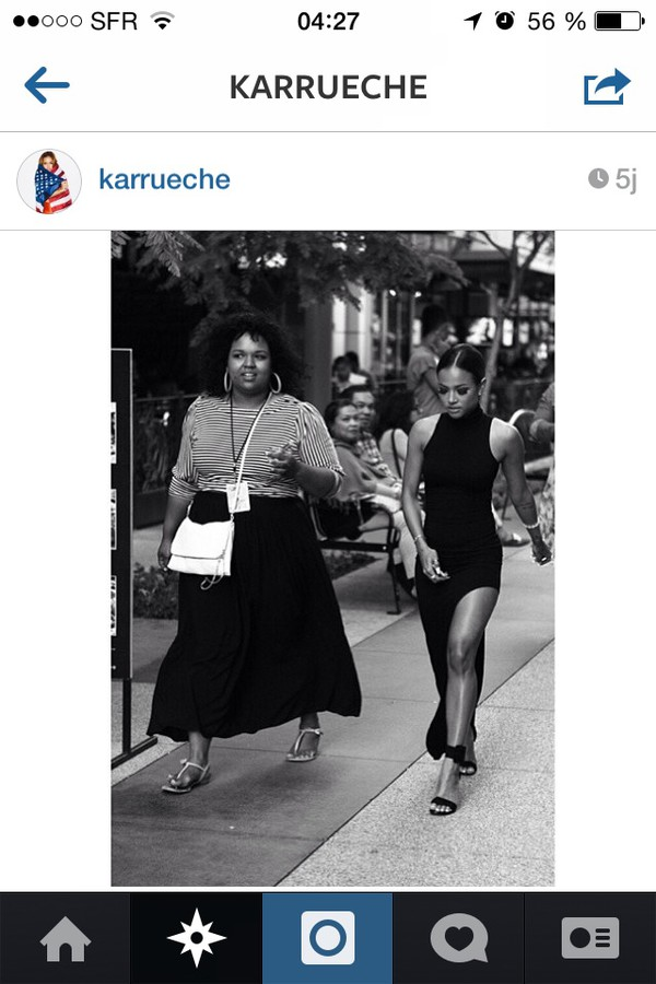 karrueche dress slit dress maxi dress