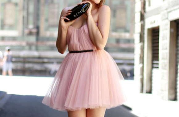 prom dress pink dress tulle prom tulle dress dress pink ruffled dress pink a linie a linie rosa kurz