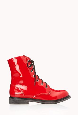 Underground Combat Boots   FOREVER 21 - 2000108105