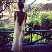 dress,long dress,white dress,summer outfits,blouse,maxi dress,white,open back,maxi,white maxi dress,backless,boho,bohemian,hippie,white simple deess,so beautiful,summer dress,ring,body chain,belly piercing,top,shirt,High waisted shorts,cut off shorts,cut offs,indie,nails,flowered shorts,jacket,cardigan,backless dress