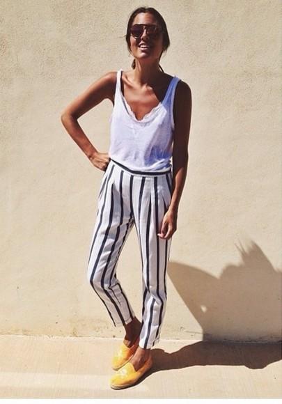 stripes stripes, black, white, black and white, tank top, crop top,